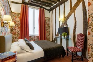 Chambre classique Hôtel Saint Paul Paris