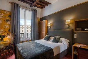 Chambre double standard Hôtel Saint Paul Paris