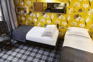Chambre duplex Hôtel Saint Paul Paris